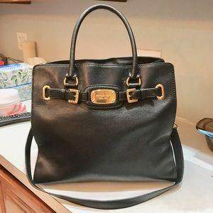 Michael Kors Large black East West Hamilton bag